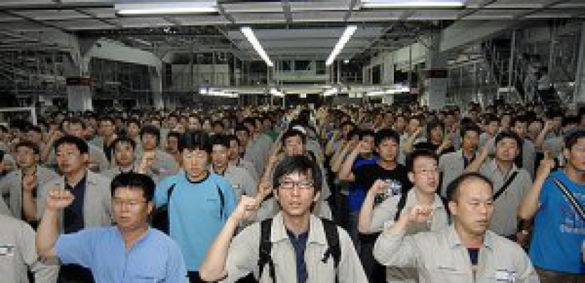 Korean Unionists Protest Free Trade Agreement With Us Labor Notes