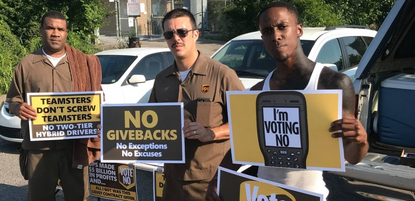Ups Package Delivery Driver Pay >> Ups Teamsters Take On Two Tier Labor Notes