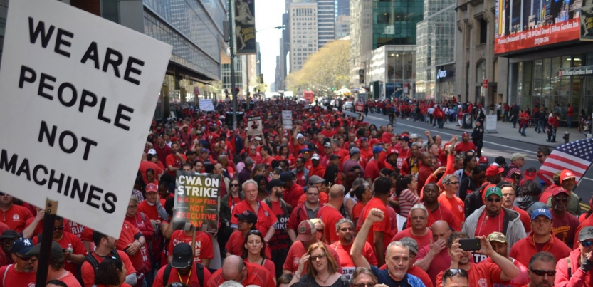On the Line with Verizon Strikers | Labor Notes