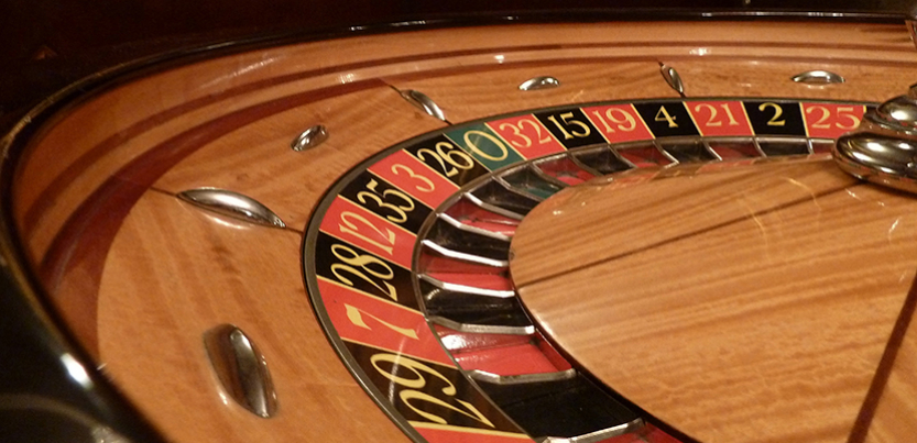 quarter of roulette wheel
