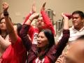 Member celebrates ratification vote in Hawaii after UNITE HERE Marriott strike