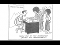 cartoon where boss is angry because workers suggested firing management instead of concessions