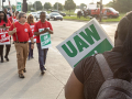 The UAW strike against General Motors is heating up on the picket lines as the stand-off enters its second week.