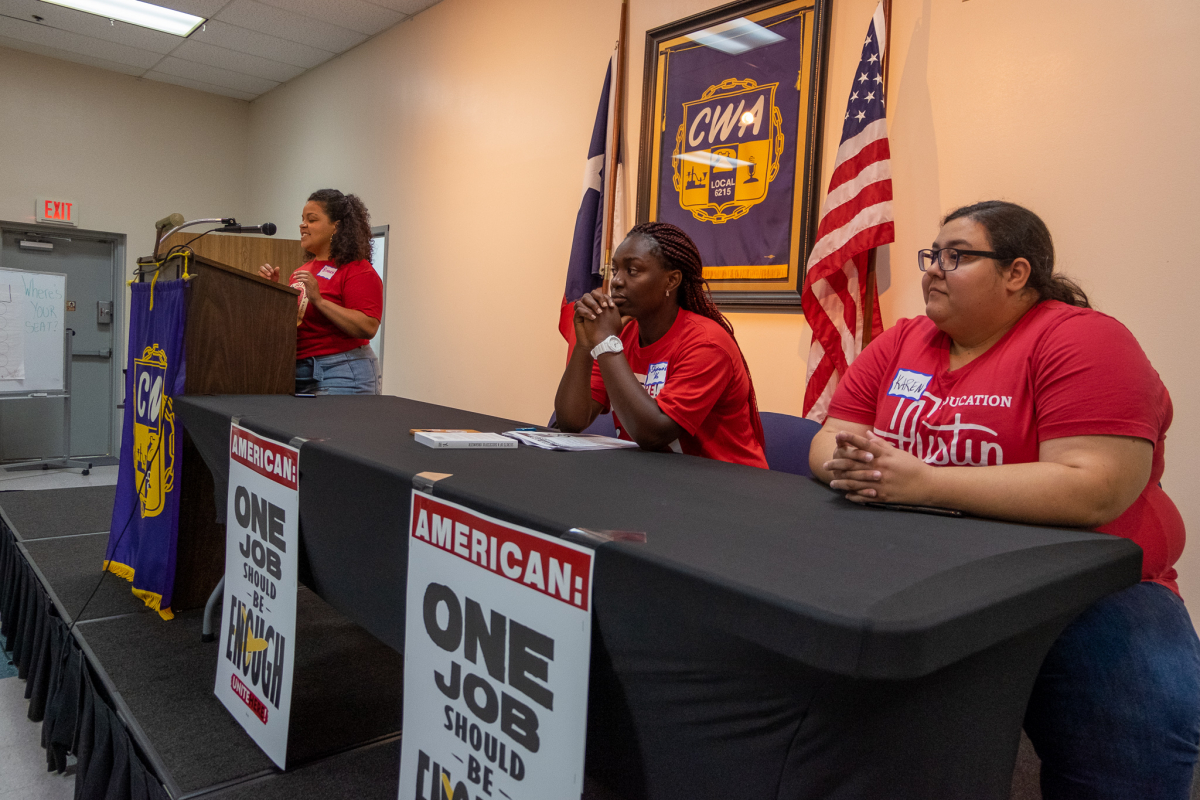 Panel at the 2019 Dallas Troublemakers School.